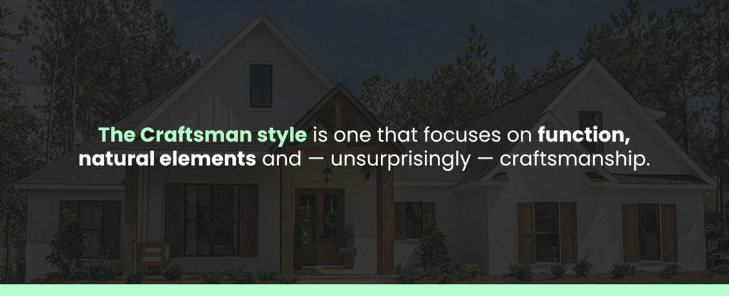 What Is a Craftsman Style House