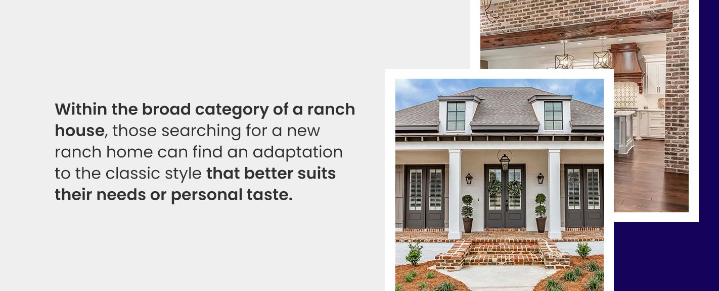 Types of Ranch House Plans
